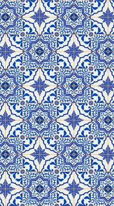Azulejos is a Portuguese Tile Vinyl Flooring design that features intricately detailed faux tiles with differing patterns in a charming blue, white and orange colour palette, inspired by traditional Portuguese tile designs. #vinyl #flooring #vinylflooring #vinyltiles #floortiles #Ihavethisthingwithfloors #tiles #design #interior #homedecor