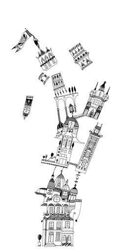 Les gratte-ciel de G. Zullo et albertine