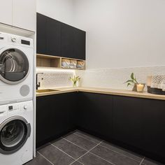 "Discover additional details on ""laundry room storage diy shelves"". Take a look at our website. Small Laundry Rooms, Laundry Room Organization, Laundry In Bathroom, Diy Organization, Laundy Room, Laundry Room Design, Closet Storage, Storage Shelves, Open Shelving"