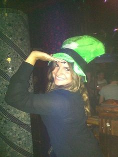 Our lovely sister Mayra reppin' what she knows best in Ireland!