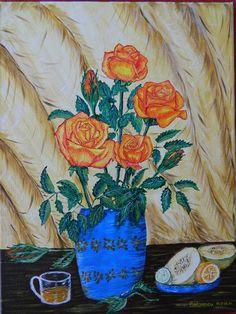 Aurica Boboescu: Acrilic pe panza Painting, Art, Art Background, Painting Art, Kunst, Paintings, Performing Arts, Painted Canvas, Drawings