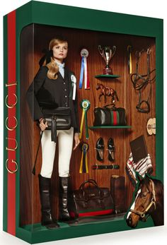 Vogue Paris - Real Life Designer Barbie Dolls - Gucci