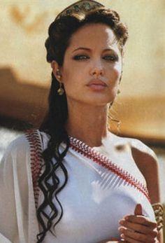 Ancient greek goddess hair