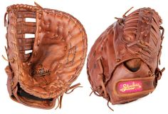 "12 1/2"" Women's First Base Shoeless Jane Fast Pitch Mitt - 1250FPFBR - Handmade & Professionally Broken-In."