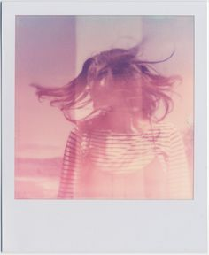 portrait by Aimee Adams Photography (Oklahoma) on a Minolta Spectra Camera with Push film from the Impossible Project