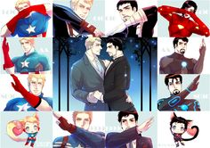 brownbear-tm: 포스터용 has a Steve/Tony English fanbook, which is on sale here: http://stevetony-anthology.tumblr.com/post/108512563115 - I'm just going through Stony pics to mend my heart from the new Civil War trailer