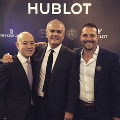 Showtime! @r_rguadalupe @miketay thanks! @Hublot @thehourglass_official #KualaLumpur #RaptorDisplayCase on tour