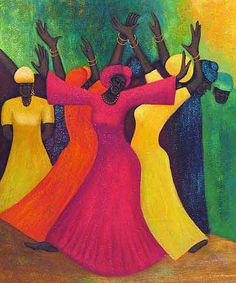 African Black Women Faces Black oil art painting