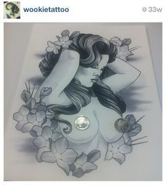 naked pin up girl tattoo - Google Search