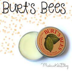 Burt's Bees Lemon Butter Cuticle Cream    Limon Yağı İçeren Tırnak Eti Bakım Kremi