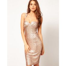 Sexy Bodycon Dress In Sequin