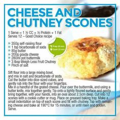 Cheese and chutney scones Healthy Eating Recipes, Healthy Meal Prep, Healthy Snacks, Healthy Life, Low Gi Foods, Eggless Recipes, South African Recipes, Low Carb Breakfast, Breakfast Club