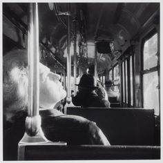 Bernard Plossu :: Bus 21, Paris, from 'L'abstraction invisible', 1971