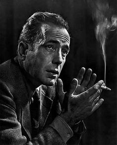 Humprey Bogart. Photo: Yousuf Karsh.