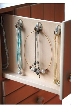 Lotusbloem: the cupboard which stores all your necklaces.