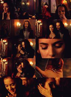 Bram Stoker's Dracula, The mood, Long lost love found again. Dracula Film, Vampire Dracula, Vampire Love, Vampire Pics, Dracula Untold, Real Vampires, Vampires And Werewolves, Bram Stokers Dracula, Lestat And Louis