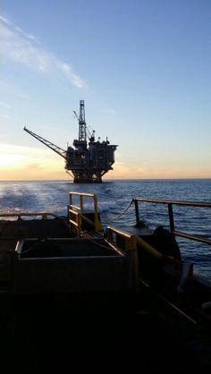 Offshore Oil Platform...So Cal