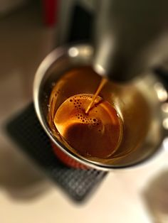 Guten Morgen…der #Kazaar #Kaffe von @Nespresso bringt Schwung in den Tag