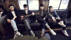 CNBLUE in New York for their first solo concert, part of the blue moon world tour. Stylin!!!!