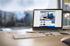Le site internet des Transports Lemonnier, transporteur normand travaillant à l'international.