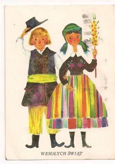 Polish Easter card