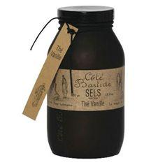 Cote Bastide Vanilla Tea Bath Salts - Made in France.