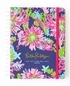 Lilly Pulitzer Large Agenda in Trippin And Sippin