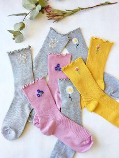 Funky Socks, Crazy Socks, Cute Socks, Look Patches, Zeina, Accesorios Casual, Kids Socks, Fashion Socks, Ankle Socks
