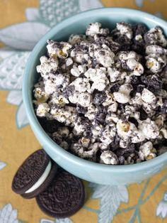 Cookies and cream popcorn plus 11 other creative popcorn recipes.
