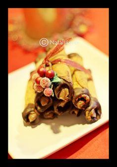 Honey chocolate rolls