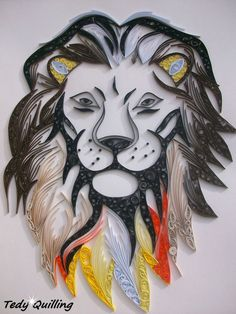 Image result for quilling animals