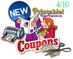 New Printable Coupons 4-10_Calvary Couponers and Crafters