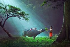 Indonesia - 30 Magical Photos Of Children Playing Around The World