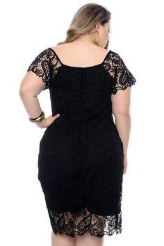 Vestido Plus Size Akash Split Pants, Dress Brokat, Modelos Plus Size, Dress Neck Designs, Moda Plus Size, Mode Hijab, Dress Collection, Plus Size Fashion, Party Dress