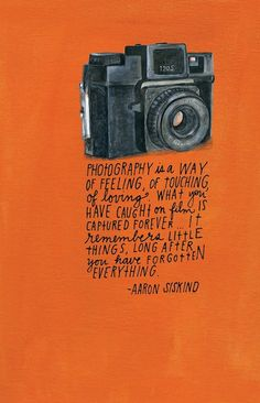 Photography is...