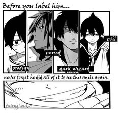 Never really hated Zeref all he wanted was to see his brother and lover