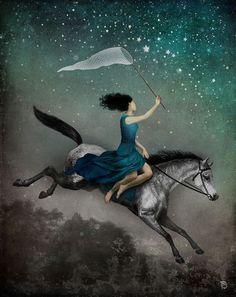 Catch a falling star :) More