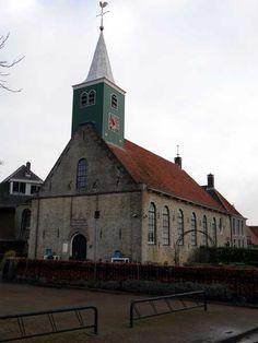 De voormalige Buurtjeskerk. Andijk Holland