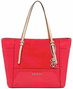 GUESS Delaney Small Classic Tote - Guess - Handbags  amp  Accessories -  Macy s Guess Handbags 4c3fc60d83