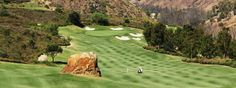 Freshly mowed golf course // Golf The Crosby Club in Rancho Santa Fe