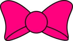 Minnie Bow Clip Art