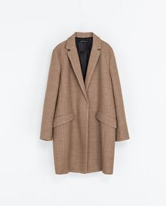 Image 6 of WOOL BLAZER COAT from Zara