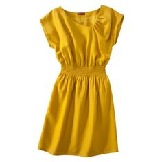 Yellow dress for spring. #fashion #dress #yellow $35