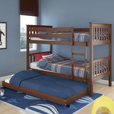 dCOR design Monterey Twin Bunk Bed & Reviews | Wayfair