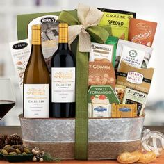 Wine Gift Baskets - Business Wine Basket Holiday Gift Baskets, Wine Gift Baskets, Holiday Gifts, Show Appreciation, Welcome Gifts, Thanksgiving Gifts, Business Gifts, Corporate Gifts, Wines