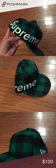 2b2dd70730b Supreme lumberjack new era fitted cap 7 1 2 Supreme lumberjack new era  fitted 7