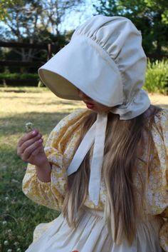 Gorgeous pioneer girl! Kids 1860's costume via Craftsmumship #Halloween #BookWeek
