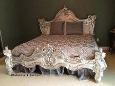 modern baroque bed frame cool bedrooms Pinterest Modern
