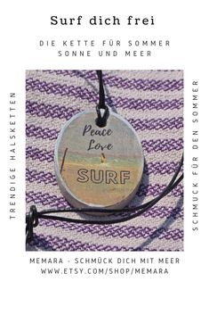Peace And Love, Surf, Shopping, Home Decor, Necklaces, Decoration Home, Surfing, Room Decor, Surfs