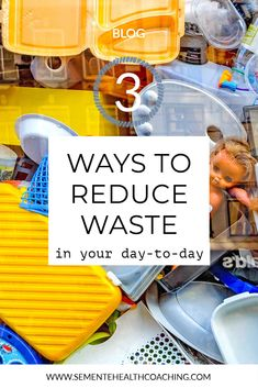 Ways to reduce waste in your day-to-day: waste of food, non-biodegradable and non-essential products. Industrial Scales, Marketing Goals, Online Tutorials, Reduce Waste, Food Waste, Best Investments, Health Coach, Clean House